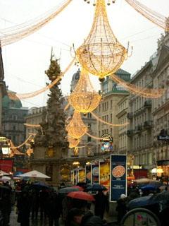 新年を待つウィーン市内の様子